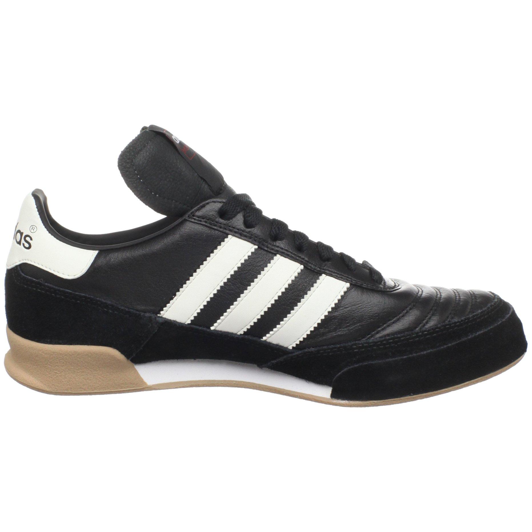 adidas Men's Mundial Goal Soccer Cleat, Black/White/White, 5 M US by adidas (Image #6)