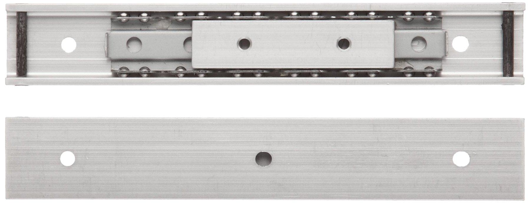 Sugastune ARL2-16 Aluminum Drawer Slide, 5-29/32'' Closed, 3-57/64'' Travel, 11 lbs/Pack Ld Cap (1 Pair)