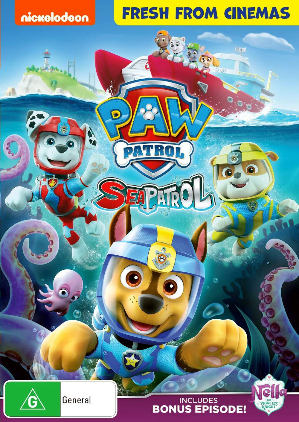 Paw Patrol: Sea Patrol (DVD): Alex Thorne (Voice), Ron Pardo (Voice