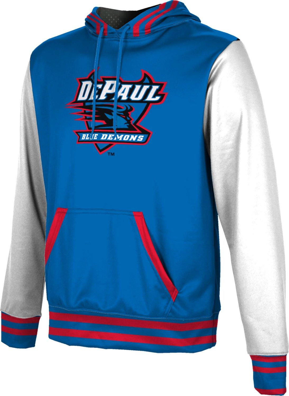 ProSphere DePaul University Boys' Pullover Hoodie, School Spirit Sweatshirt (Letterman) F8DF3
