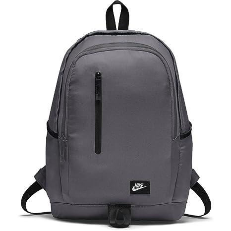 8ee9e3d459 Nike All Access Soleday Sol Zaino Uomo, Grigio (Dark Grey / Black / White
