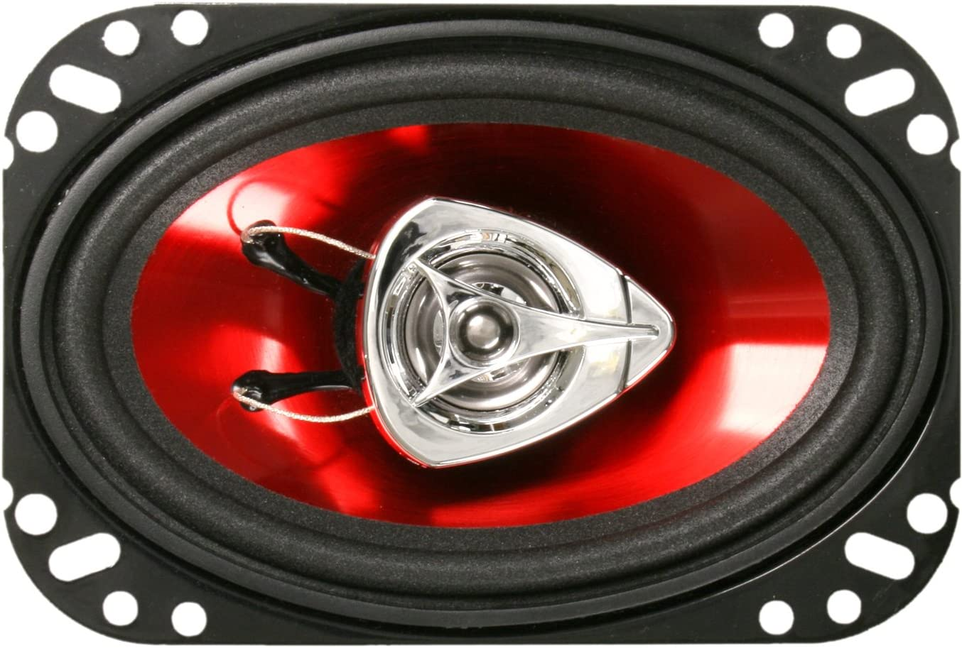 BOSS Audio Systems CH4620 Car Speakers - 200 Watts Of Power Per Pair And 100 Watts Each, 4 x 6 Inch , Full Range, 2 Way, Sold in Pairs, Easy Mounting
