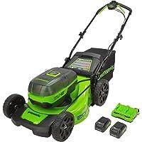 Greenworks 20 Inch 2 x 24V Battery-Powered Push Mower