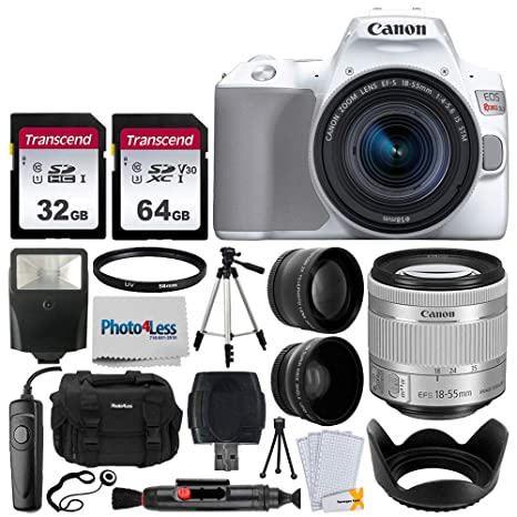 Amazon.com: Canon EOS Rebel SL3 - Cámara réflex digital ...