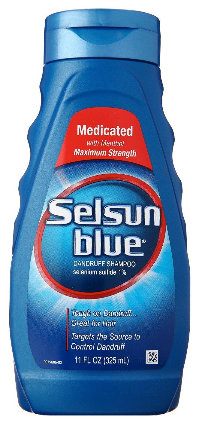 Selsun Blue Shampoo Naturals Dandruff Medicated 11 Ounce (325ml) (6 Pack) by Selsun Blue