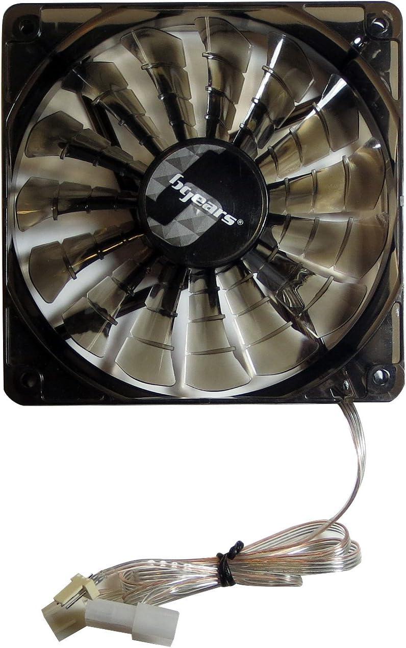 Bgears b-PWM Ventilateur PC 120 mm Noir