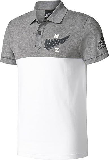 adidas AB Coll Polo - Selección Rugby Nueva Zelanda, Hombre: Amazon.es: Ropa y accesorios