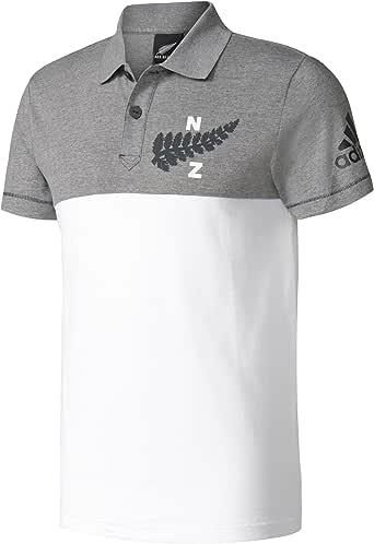 adidas AB Coll Polo-Selección Rugby Nueva Zelanda, Hombre: Amazon ...