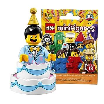 Lego Series 18 Cake Guy  Minifigure