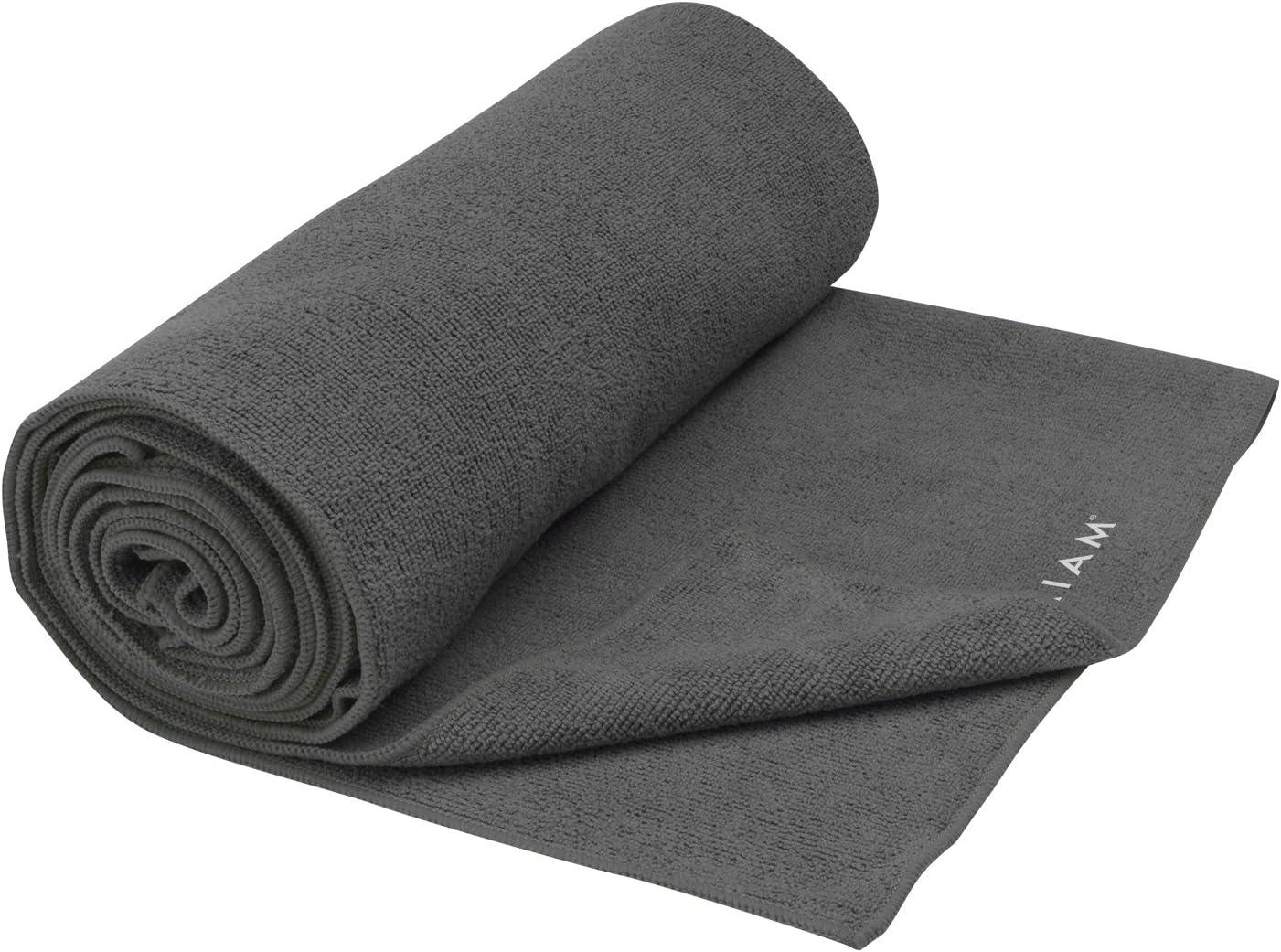 Gaiam Athletic Yoga Series maxTowel Xtra-Large Yoga Mat Towel