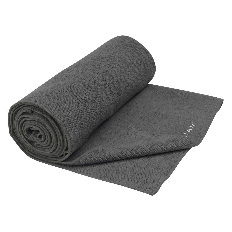Gaiam Athletic Yoga Series maxTowel Xtra-Large Yoga Mat Towel 05-61570