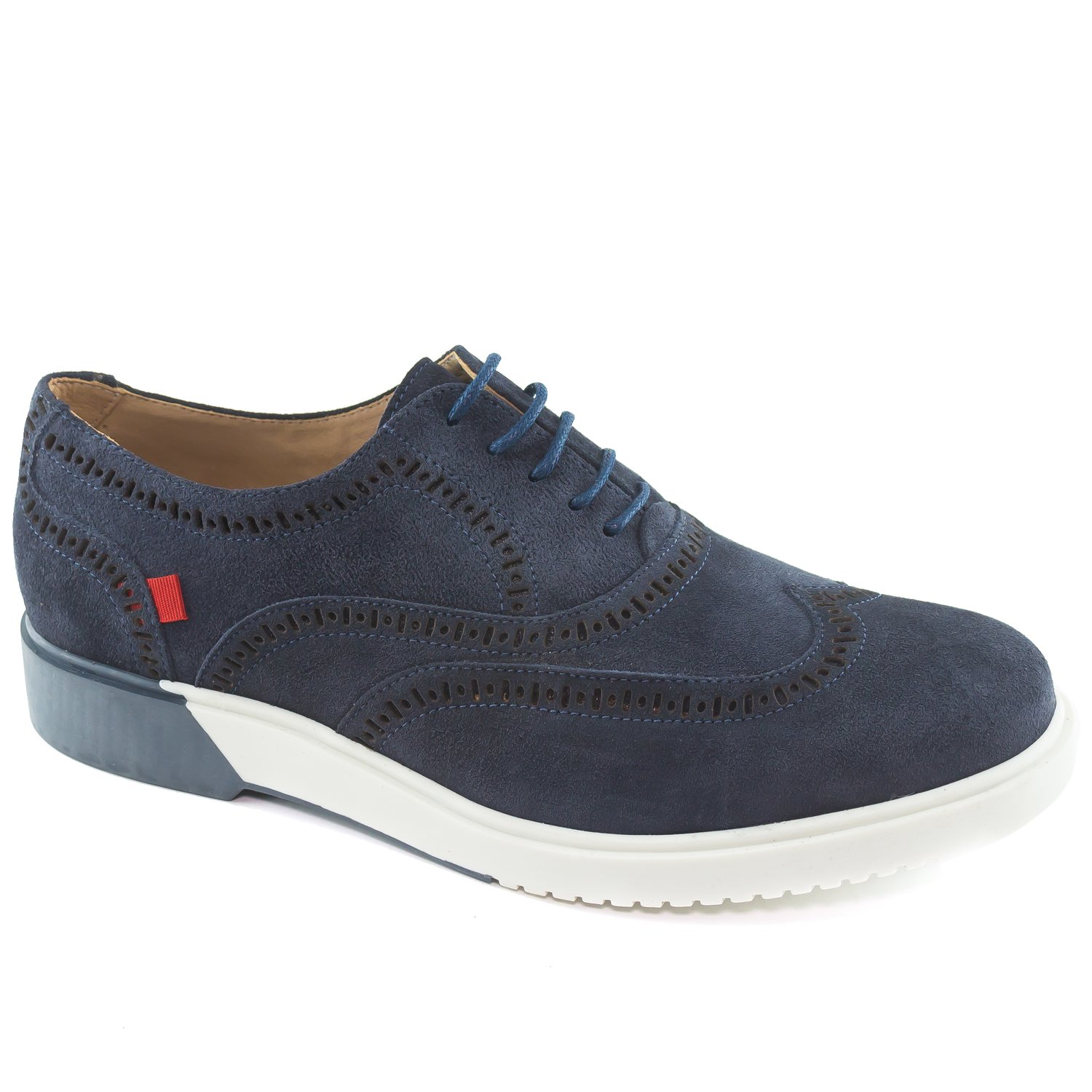 Marc Joseph New York Men's 5th Ave 5th Ave Navy Suede Oxford Shoes 12