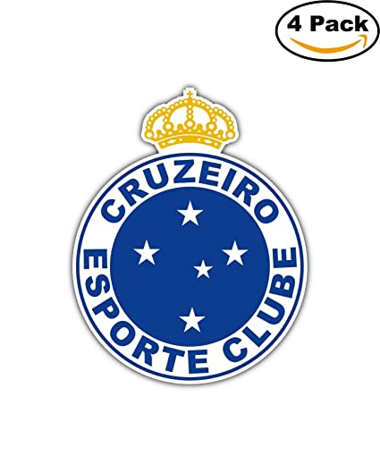 Cruzeiro Esporte Clube FC Brazil Football Soccer Car Bumper Sticker Decal 4X5