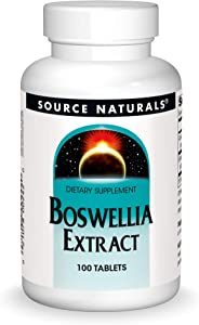 Source Naturals Boswellia Extract 243 mg Dietary Supplement - 100 Tablets
