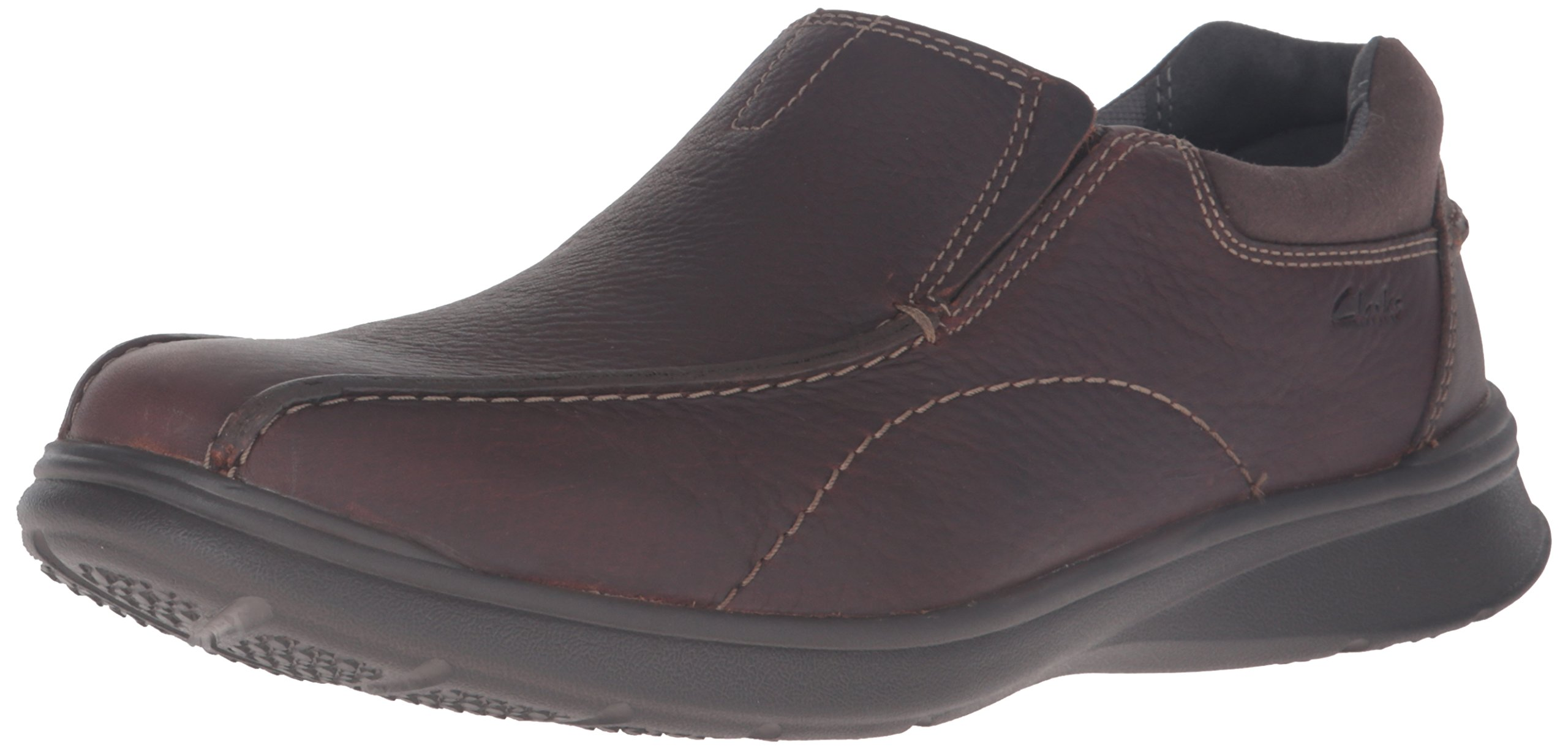 Clarks Men's Cotrell Step Slip-on Loafer,Brown Oily,10.5 D - Medium
