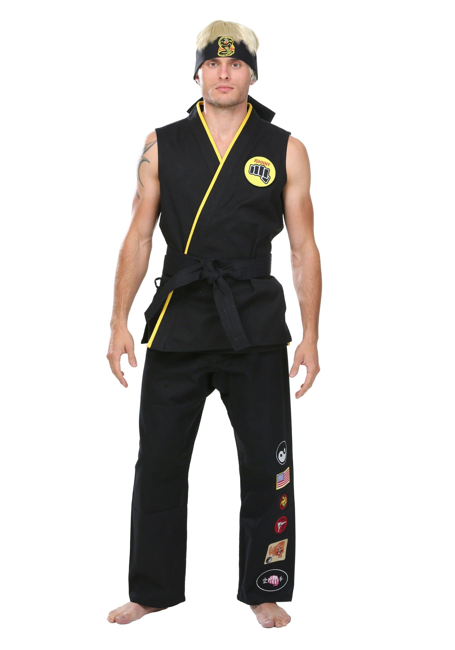 Super Elite Cobra Kai Costume Small by SSCO Pak Inds (Image #1)