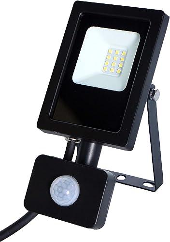 I-WATTS - Proyector LED de pared de 10 W con fotocélula sensor de ...
