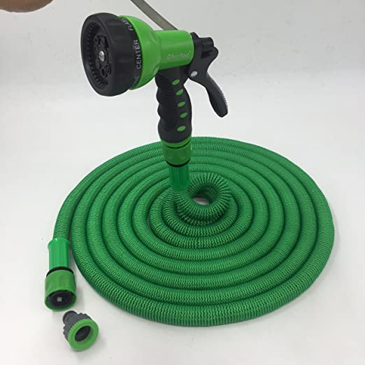 The Best Expandable Garden Hose 50ft The Strongest Garden Hose On Amazon Super Strong Will Never Leak Indestructible Triple Layered Latex Core With Hardened Plastic Connectors No Kink Flexible Magic Hose