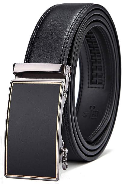 dfd5d260ea8d Bulliant Men Belt-Leather Ratchet Belt for Men Dress In Gift Box ...