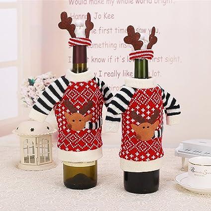 Árbol de Navidad para botellas de agua con diseño de botellas de bolsa de botella de