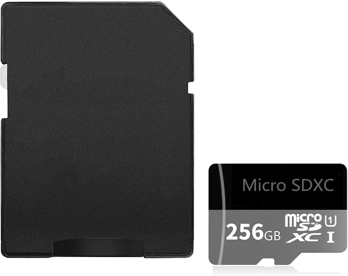 Tarjeta Micro SD SDXC de alta velocidad de 256 GB clase 10 con adaptador