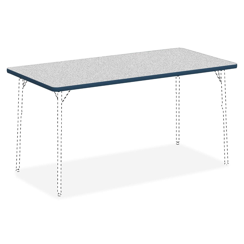 Lorell aula – Actividad mesa Rectangular gris nebulosa, laminado ...
