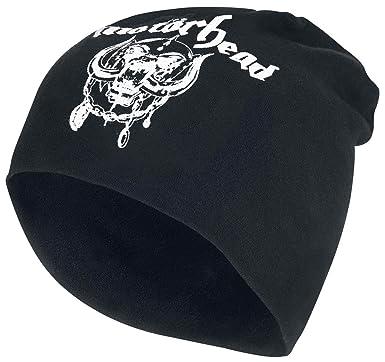 Motorhead England War Pig Band Logo Rock Metal Dual-Sided Skull Cap Beanie  Hat b0b5e6455aad