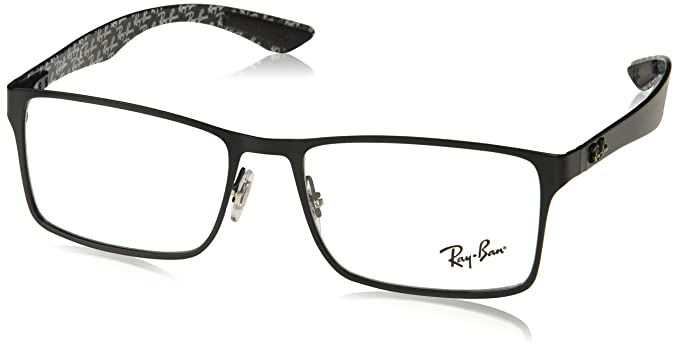 2528e0b8be Amazon.com  Ray-Ban Men s 0rx8415 No Polarization Rectangular ...
