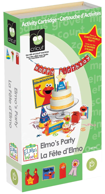 Cricut Elmos Party Cartridge 291074
