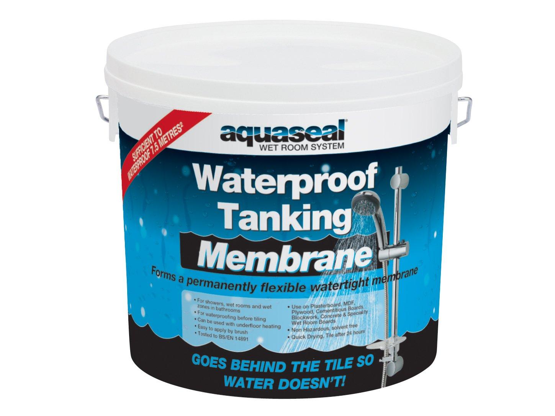 Everbuild AQWRSMEM5 Aquaseal Waterproof Tanking Membrane Sealant ...