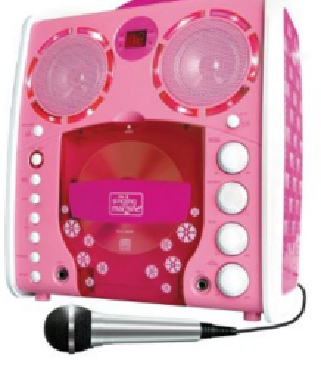 Singing Machine SML-383 Portable CD-G Karaoke Player and 3 CDGs Party Pack - Pink [並行輸入品] B01BK1PFYI