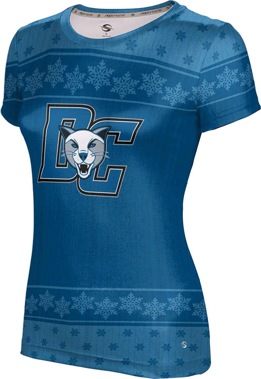 ProSphere Women's Daemen College Ugly Holiday Snowflake Tech Tee