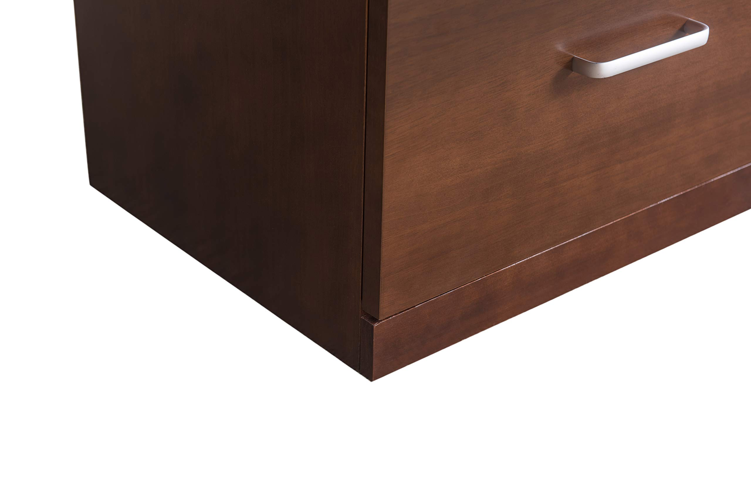 2L Lifestyle Henley File Cabinet, Brown by 2L Lifestyle (Image #9)