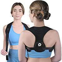 Posture Corrector Upper Back Brace - Back Straightener for Neck Hump, Scoliosis - Stop Slouching Trainer for Perfect…