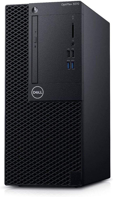 Dell OptiPlex 3070 SFF Desktop Small Form Factor - Intel Core i5 9th Gen - i5-9500 - Six Core 4.4Ghz - 256GB SSD - 8GB RAM - Windows 10 Pro