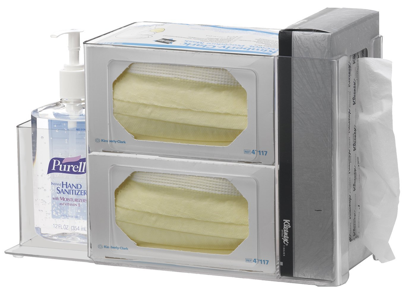 Omnimed 304005-1 Acrylic Infection Prevention Station