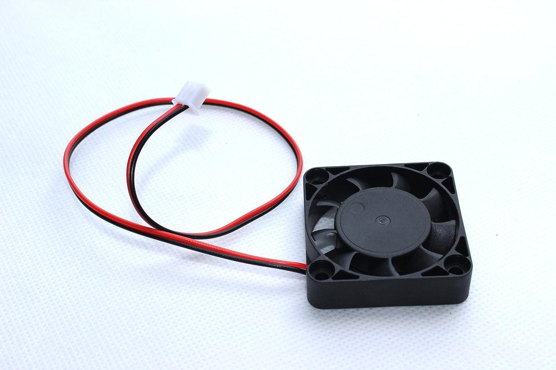 3D de la impresora 12V DC 40 * 40 * 10 mm Ventilador de ...