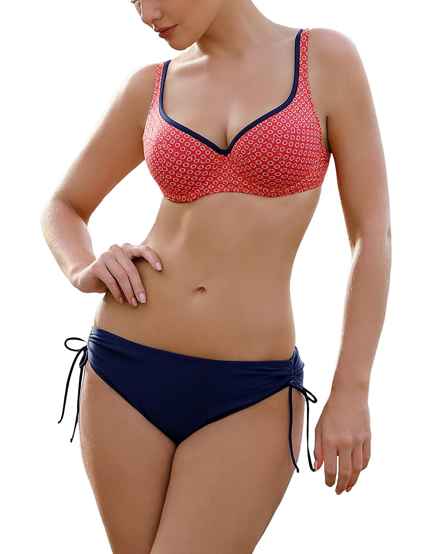Amazon.com: Ewlon con aros Push-Up Bikini Set d.8158: Clothing