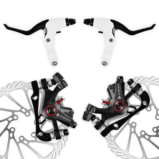11 opinioni per AFTERPARTZ NV-5 G3 moto meccanico freno a disco anteriore + kit freno del rotore