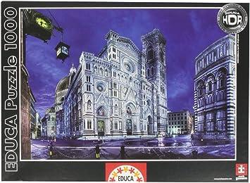 Educa Borrás 14834 - 1000 Santa Maria del Fiore Florencia: Amazon.es: Juguetes y juegos