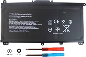 Shareway TF03XL Replacement Laptop Battery Compatible for HP Pavilion 15-CC 15-CD 14-bf Series HSTNN-LB7X HSTNN-LB7L HSTNN-LB7J 920070-855 920046-421 [11.55V 41.9Wh]