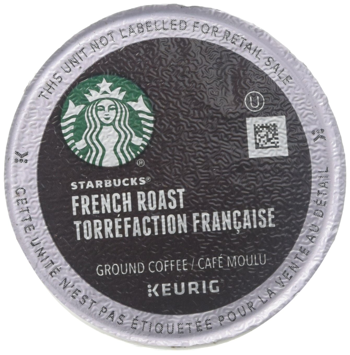 Starbucks French Roast Dark Coffee K-Cups by Starbucks