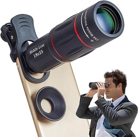 Apexel Telefonkamera Objektiv 18 Faches Teleobjektiv Kamera