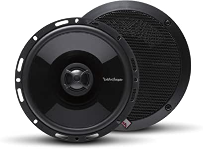 "Rockford Fosgate P1650 Punch 6.5"" 2-Way Full Range Euro Fit Compatible Speaker (Pair)"