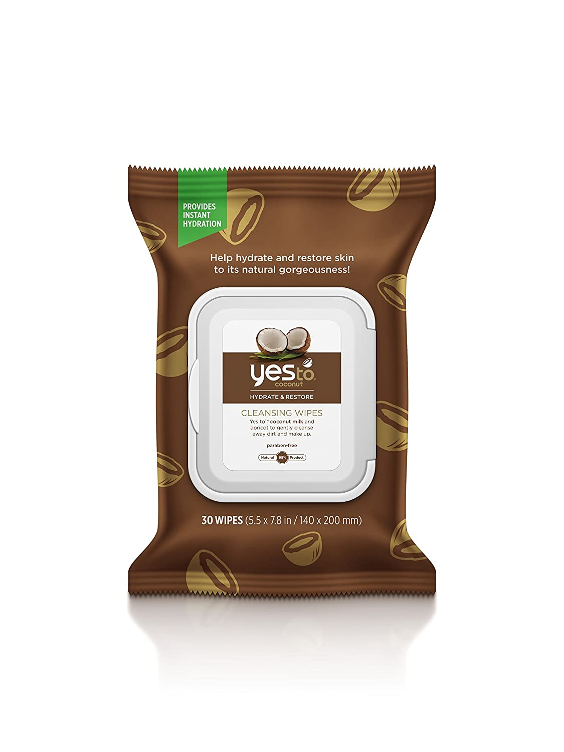 Yes To Coconut Wipe 1 Count 5437101