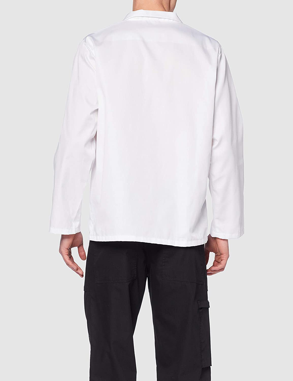 Portwest Workwear Mens Bakers Shirt Long Sleeve