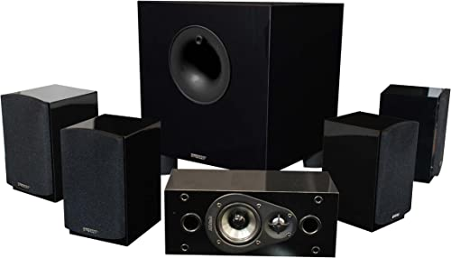 Energy 5.1 Take Classic Home Theater System Set of Six, Black