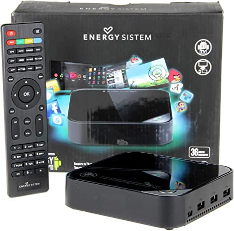 Energy Sistem 383139 - Centro Multimedia Smart TV (WiFi Integrado, TDT-HD, Android 4.0): Amazon.es: Informática