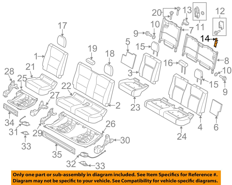 Amazon.com: Ford OEM 15-18 F-150 Rear Seat-Latch Left FU5Z9661383B: Automotive