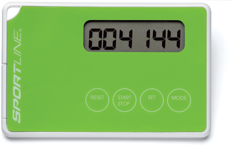 Sportline 303 ThinQ Pedometer Green